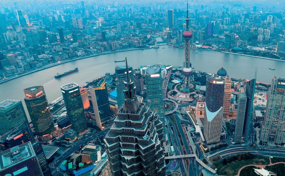 the economy of modern China is developing