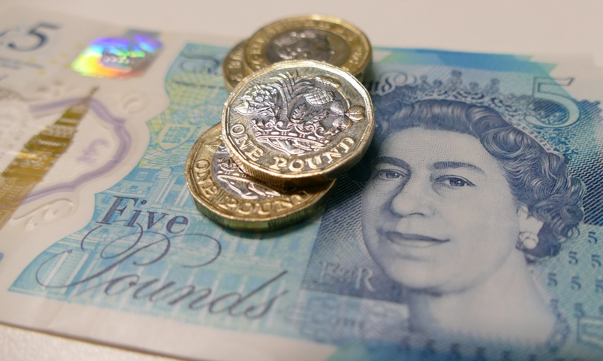pound has fallen