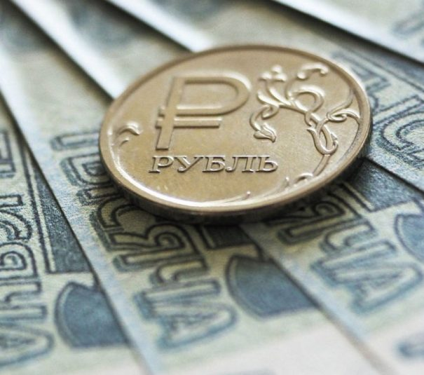 behavior of the ruble