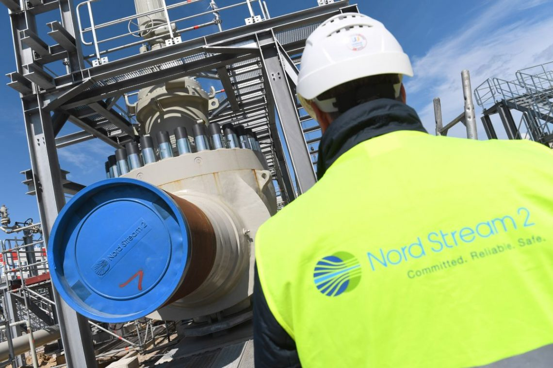 Nord Stream 2 pipeline construction