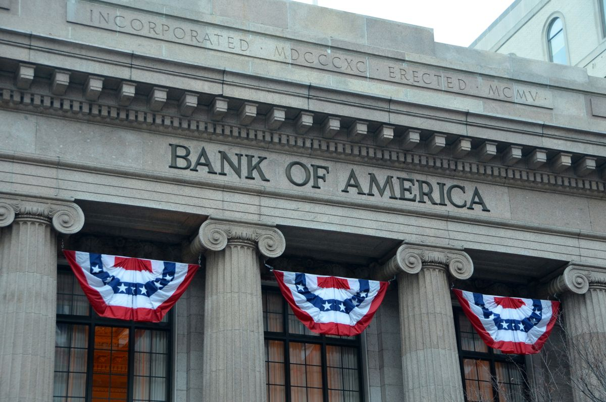 Bank of America shares