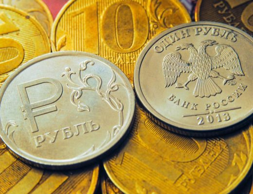 dynamics of the Russian ruble